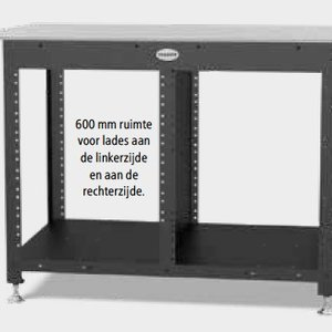 Workstation lastafel 1200 x 800 x 12 mm diverse uitvoeringen